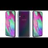 Samsung Galaxy A40 64GB Dual SIM A405, fekete, Gyártói garancia