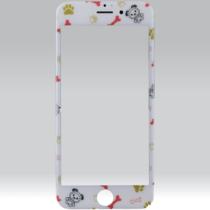 Puzoo tempered glass 0.33 full 3d white kijelzővédő Apple iPhone 6 / 6S készülékhez