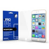 Xprotector Tempered Glass 0.33 Full 3D White (FG) kijelzővédő Apple iPhone 6 / 6S készülékhez