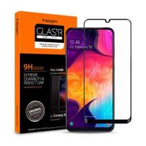Spigen Glass FC Samsung Galaxy A50/A50s/A30/A30s Tempered kijelzővédő fólia