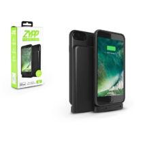 Apple iPhone 6/6S/7/8/X akkumulátoros hátlap - Zypp Power Case - 2500 mAh - black