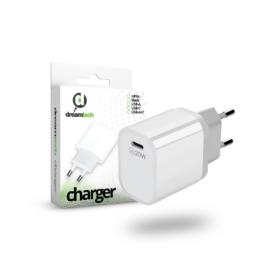 Dreamtech Charger White 20W (QC3.0) Type C