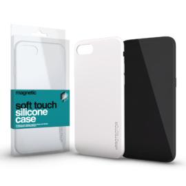 Xprotector Magnetic Soft Touch Silicone Case fehér Apple iPhone Xs Max készülékhez