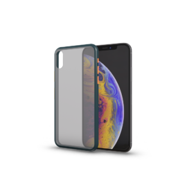 Xprotector Matt tok színes gombokkal sőtétzöld Iphone 7 / 8 / SE (2020) készülékhez