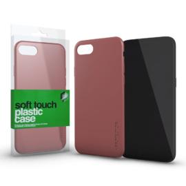 Xprotector Plasztik tok Soft-touch felülettel rozé arany Apple iPhone Xs Max készülékhez