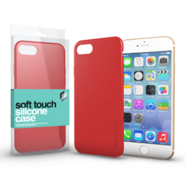 Xprotector Soft Touch Silicone Case korallpiros Apple iPhone 7 / 8 / SE (2020) készülékhez