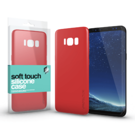 Xprotector Soft Touch Silicone Case piros Samsung S20 Ultra készülékhez