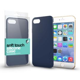 Xprotector Soft Touch Silicone Case sötétkék Apple iPhone 7 / 8 / SE (2020) készülékhez