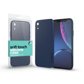 Xprotector Soft Touch Silicone Case sötétkék Apple iPhone Xr készülékhez