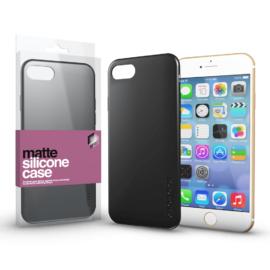 Xprotector Szilikon matte tok ultra vékony fekete Apple iPhone 7/8/SE (2020) készülékhez