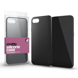 Xprotector Szilikon matte tok ultra vékony fekete Xiaomi Redmi Note 9S/ Note 9 Pro készülékhez