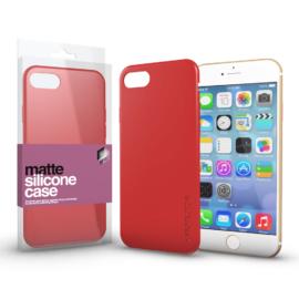Xprotector Szilikon matte tok ultra vékony korallpiros Apple iPhone 7/8/SE (2020) készülékhez