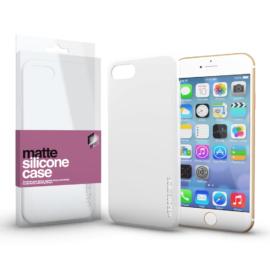 Xprotector Szilikon matte tok ultra vékony opál fehér Apple iPhone 7/8/SE (2020) készülékhez