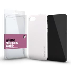 Xprotector Szilikon matte tok ultra vékony opál fehér Apple iPhone Xs Max készülékhez