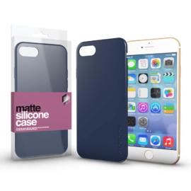 Xprotector Szilikon matte tok ultra vékony sötétkék Apple iPhone 7/8/SE (2020) készülékhez