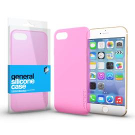 Xprotector Szilikon tok Case Pink ultra vékony 0.33 mm Apple iPhone 7 Plus / 8 Plus készülékhez