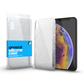 Xprotector Szilikon tok Case ultra vékony csillámos átlátszó Apple iPhone 7/8/SE (2020)
