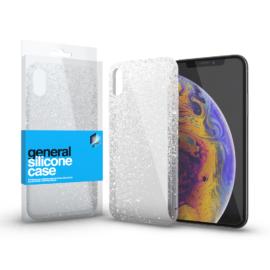 Xprotector Szilikon tok Case ultra vékony csillámos átlátszó Apple iPhone Xs Max
