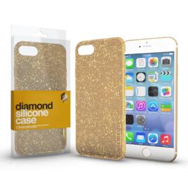 Xprotector Szilikon tok (Diamond) Arany Apple iPhone 11 készülékhez