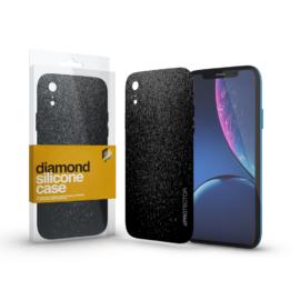 Xprotector Szilikon tok (Diamond) Fekete Apple iPhone Xr készülékhez