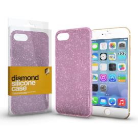 Xprotector Szilikon tok (Diamond) Pink Apple iPhone 11 készülékhez