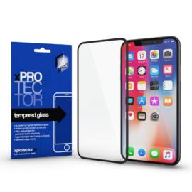 Xprotector Tempered Glass 0.33 Full 3D Black (FG) kijelzővédő üveg Apple iPhone SE (2020) készülékhez