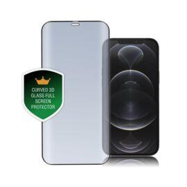 4smarts Second Glass Curved 3D Apple iPhone 12 Pro Max kijelzővédő üvegfólia, fekete