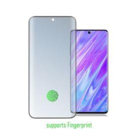 4smarts Second Glass Curved 3D Ultra Sonix Samsung G980 Galaxy S20 kijelzővédő üvegfólia, fekete