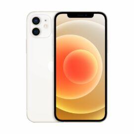 Apple Iphone 12 128GB feher, kártyafüggetlen, Gyártói garancia