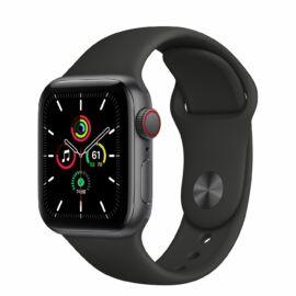 Apple Watch SE GPS 40 mm asztroszürke alumíniumtok, fekete sportszíj