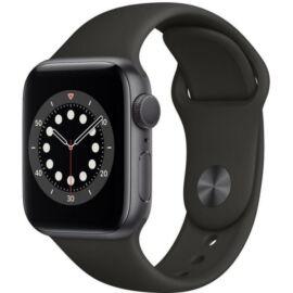 Apple Watch Series 6 GPS 40mm asztroszürke alumíniumtok, fekete sportszíj