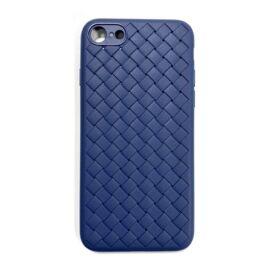 Apple iPhone SE (2020)/8/7 Braided szilikon hátlap tok, kék