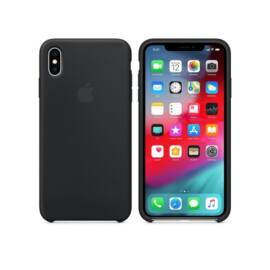Apple iPhone XS Max gyári szilikon tok, fekete, MRWE2ZM/A