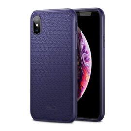 ESR Kikko szilikon hátlap tok Apple iPhone Xs/X, Kék