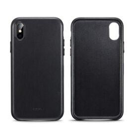 ESR Oxford Leather hátlap tok Apple iPhone X/Xs,  fekete