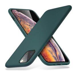 ESR Yippee szilikon hátlap tok Apple iPhone 11 Pro Max, Éjzöld