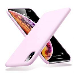 ESR Yippee szilikon hátlap tok Apple iPhone Xs Max, Pink