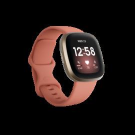 Fitbit Versa 3 okosóra, Rózsaszín/Arany