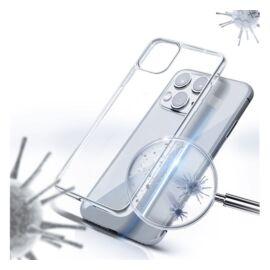 Forcell AntiBacterial hátlap tok Xiaomi Mi 10 Lite, átlátszó