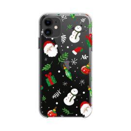 Forcell Winter hátlap tok Apple iPhone 12/12 Pro, karácsonyi mix
