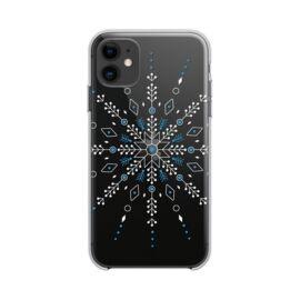 Forcell Winter hátlap tok Apple iPhone 12 Pro Max, hópehely
