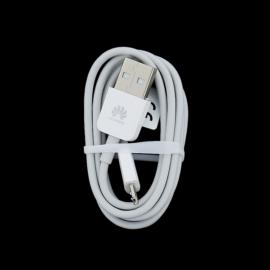 Huawei microUSB adatkábel, fehér, gyári, ECO csomagolásban