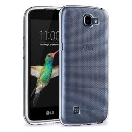 LG K4 Ultra Slim 0.3 mm szilikon hátlap tok, átlátszó