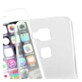 Meizu M3 Note Ultra Slim 0.3 mm szilikon hátlap tok, átlátszó