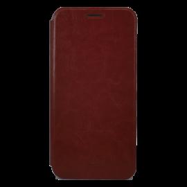 Mofi PU Bőr flip tok Xiaomi Mi 8 Lite, barna