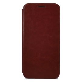 Mofi PU Bőr flip tok Xiaomi Pocophone F1, barna