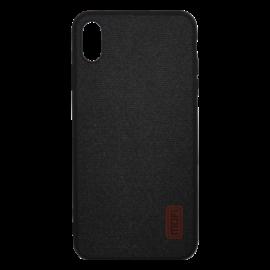 Mofi Szövet hátlap tok Xiaomi Mi 8 Lite, fekete