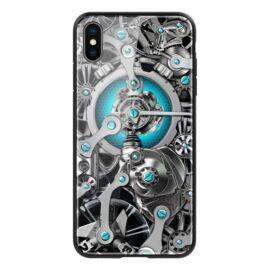 Nillkin Spacetime Apple iPhone XS Max, műanyag tok, fekete