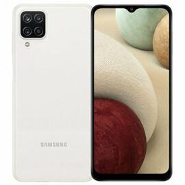 Samsung Galaxy A12 32GB 3GB RAM Dual, fehér, Gyártói garancia