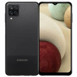 Samsung Galaxy A12 64GB 4GB RAM Dual, fekete, Gyártói garancia